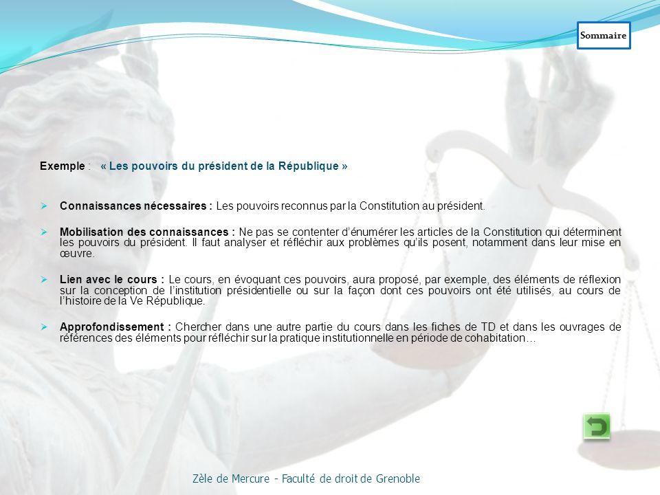 « La protection du consentement dans le mariage et le divorce » Sommaire Zèle de Mercure - Faculté de droit de Grenoble