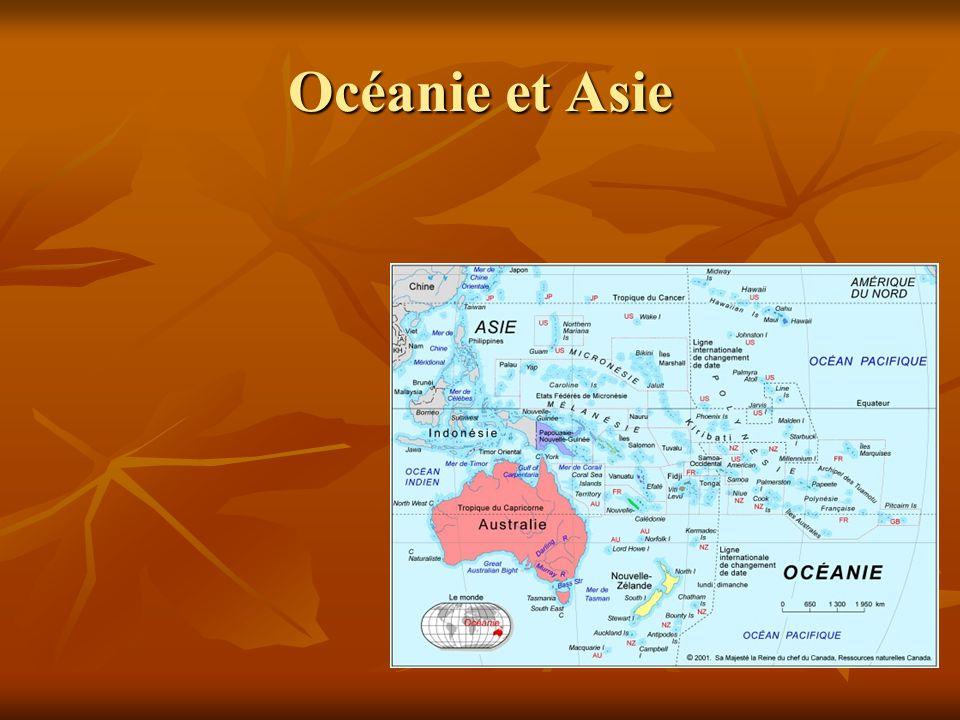 Océanie et Asie