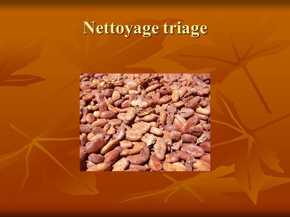 Nettoyage triage
