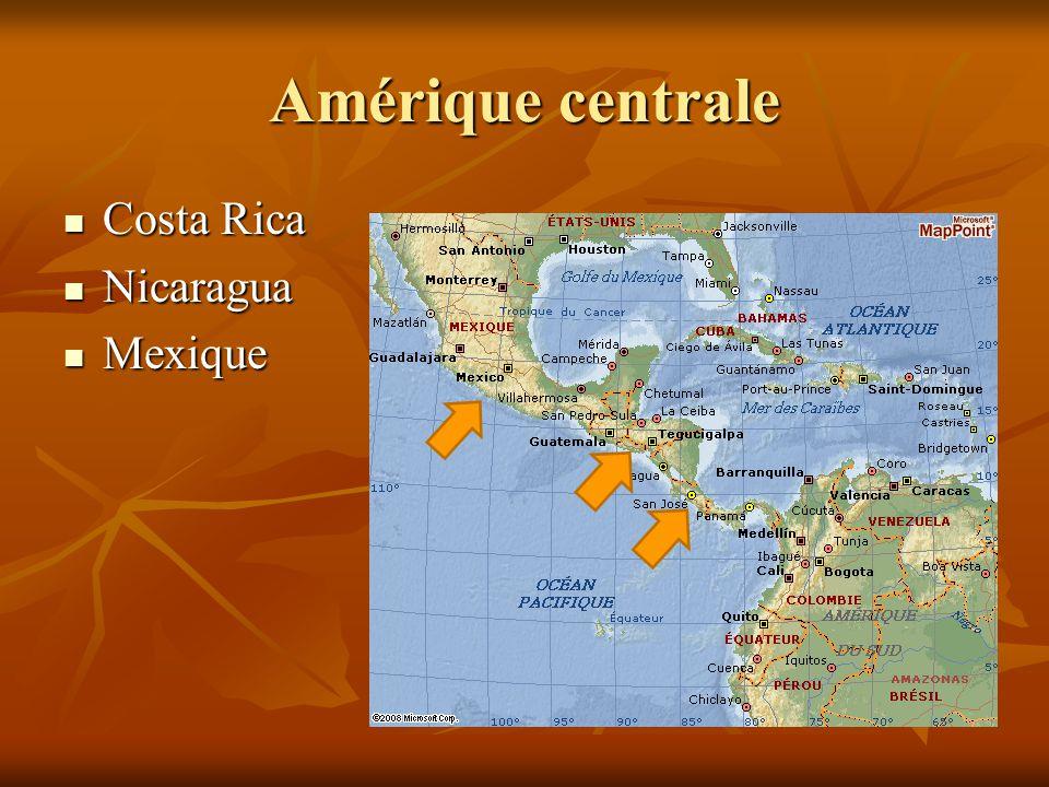 Costa Rica Costa Rica Nicaragua Nicaragua Mexique Mexique