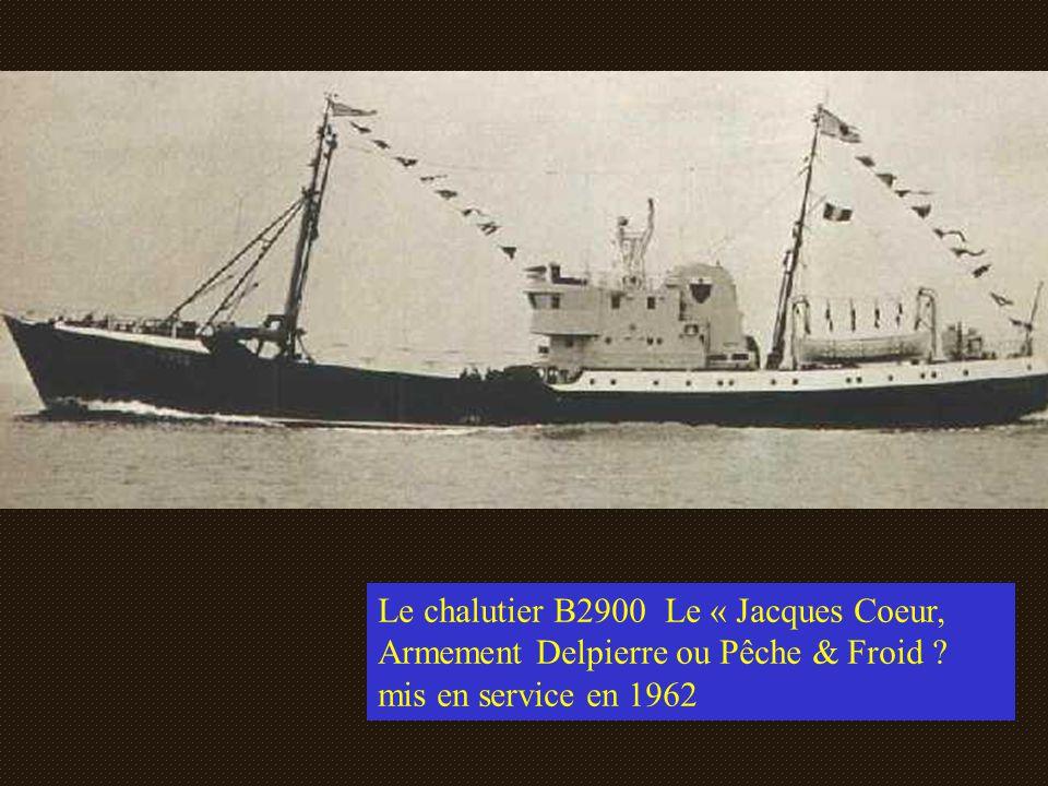 Le « NOTRE DAME PANETIERE » (B.2758). Jean Baptiste Delpierre 1956