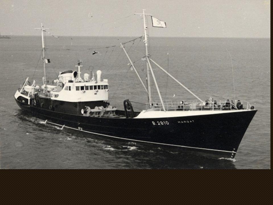 Le « Margat » B 2810 construit aux chantiers Béliard-crighton en 1959 pour les Pêcheries Manesse et Sénechal,