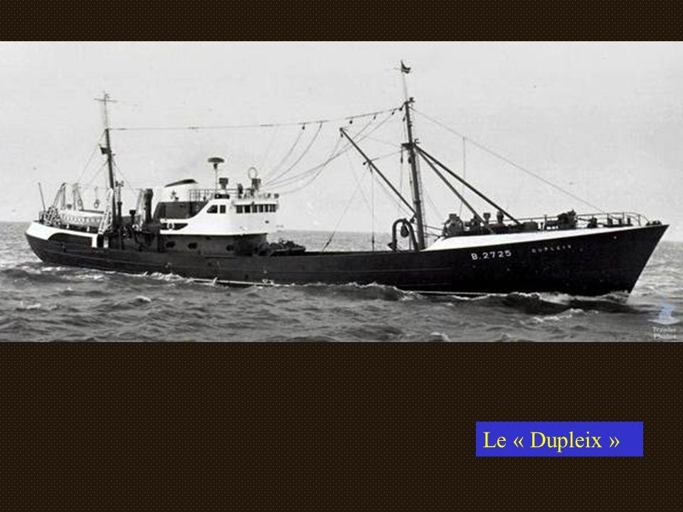 Le « CAP VERN » au port d Ostende.Armement Talleux...