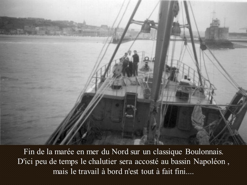 Fin de la marée en mer du Nord sur un classique Boulonnais.
