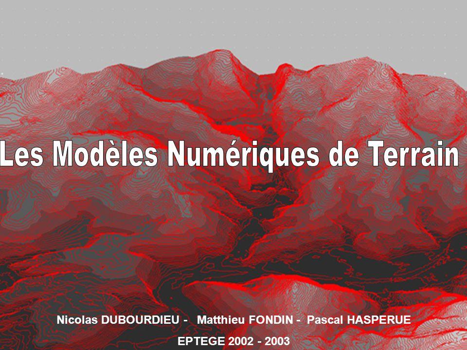 Nicolas DUBOURDIEU - Matthieu FONDIN - Pascal HASPERUE EPTEGE 2002 - 2003