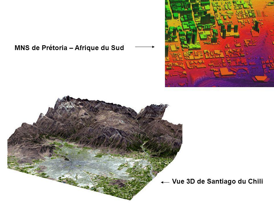 MNS de Prétoria – Afrique du Sud Vue 3D de Santiago du Chili