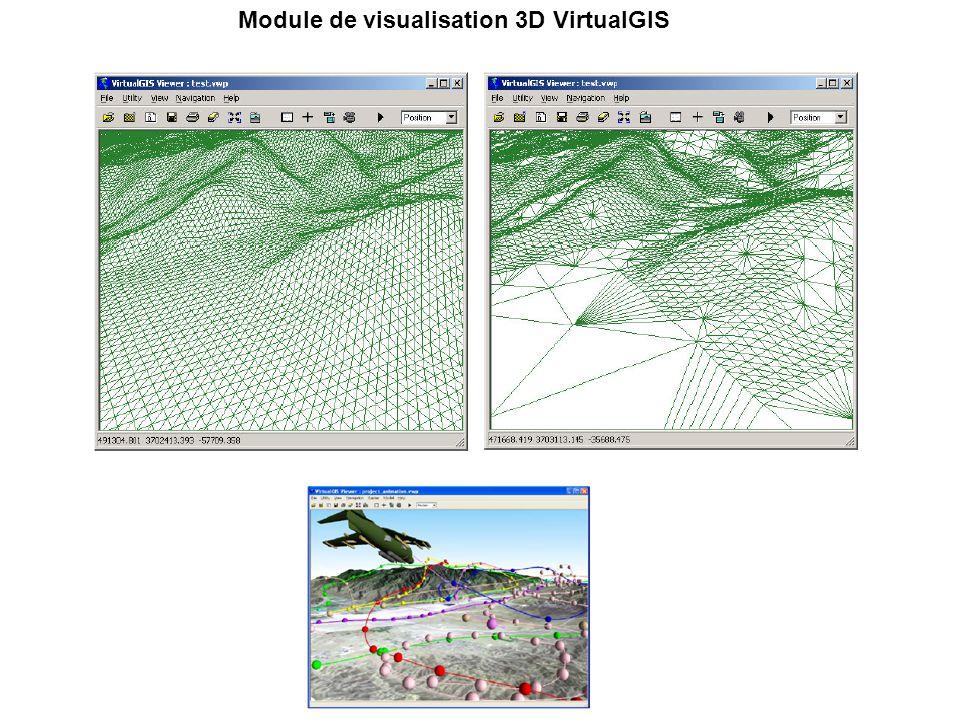 Module de visualisation 3D VirtualGIS
