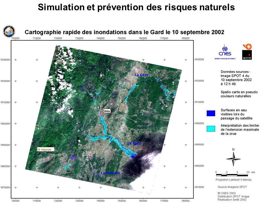 Simulation et prévention des risques naturels