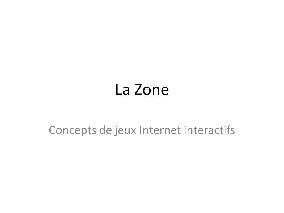 La Zone Concepts de jeux Internet interactifs