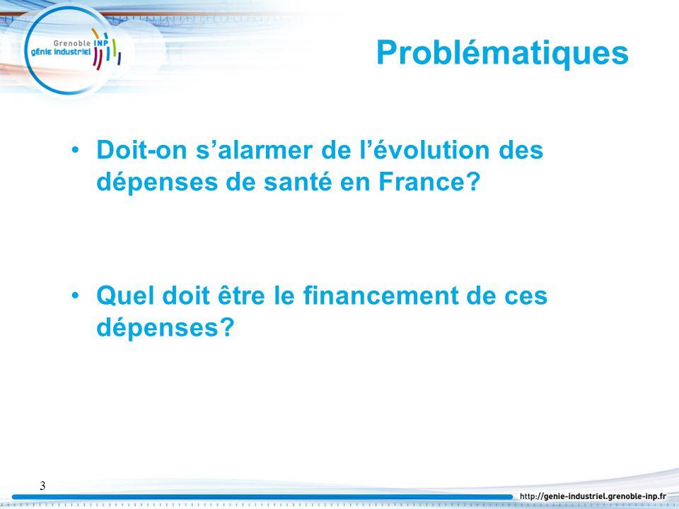 4 Plan I.Les dépenses de santé en France et son financement II.L'évolution des dépenses liées à la santé III.Lien entre croissance économique et dépense de santé IV.La question de la diminution V.La question du financement