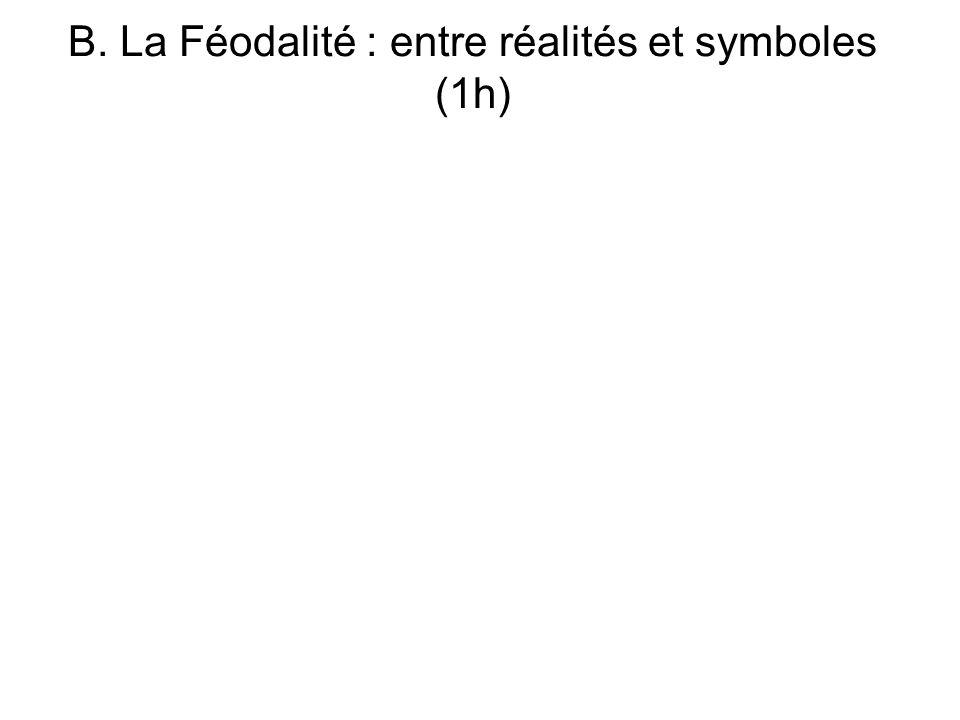 B. La Féodalité : entre réalités et symboles (1h)