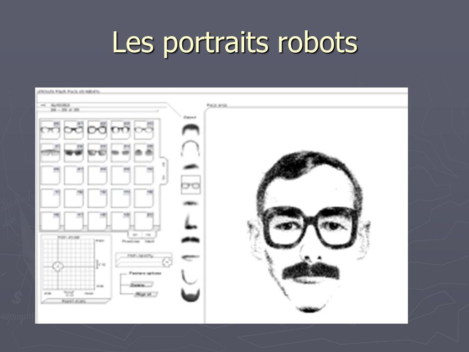 Les portraits robots
