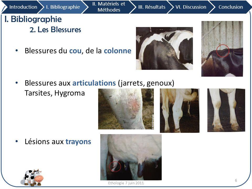 III.Résultats 9. Effet de l'emplacement des logettes Côté Lasalle IntroductionI.