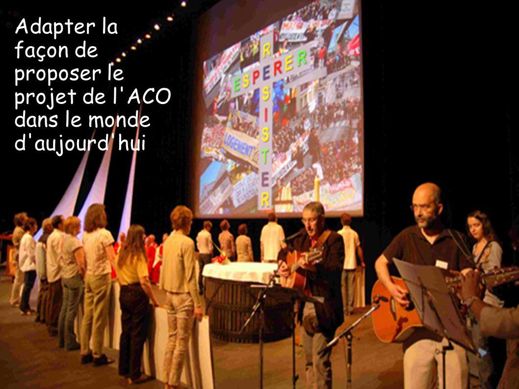 Adapter la façon de proposer le projet de l'ACO dans le monde d'aujourd'hui