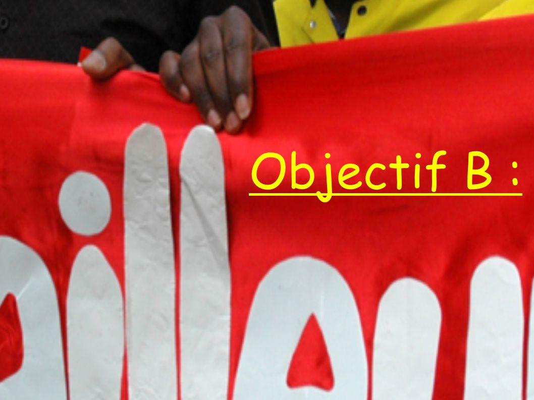 Objectif B :