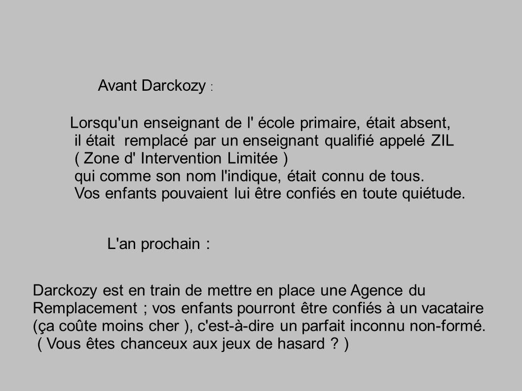 Avant Darckozy : Les programmes étaient unanimement dénoncés comme trop chargés pour 26 h hebdomadaires en primaire.