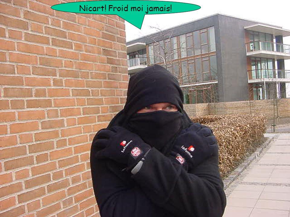 Nicart! Froid moi jamais!