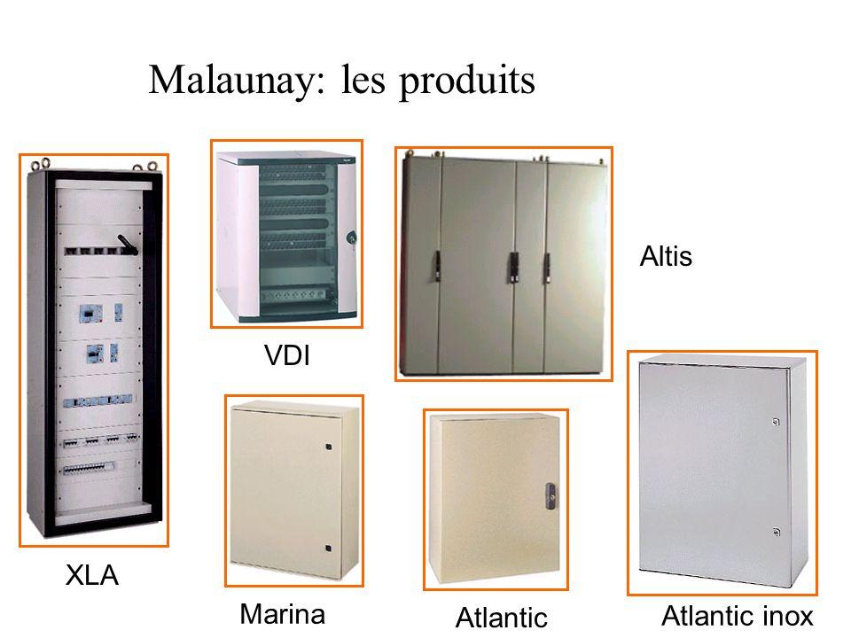 XLA Atlantic Marina VDI Altis Atlantic inox Malaunay: les produits
