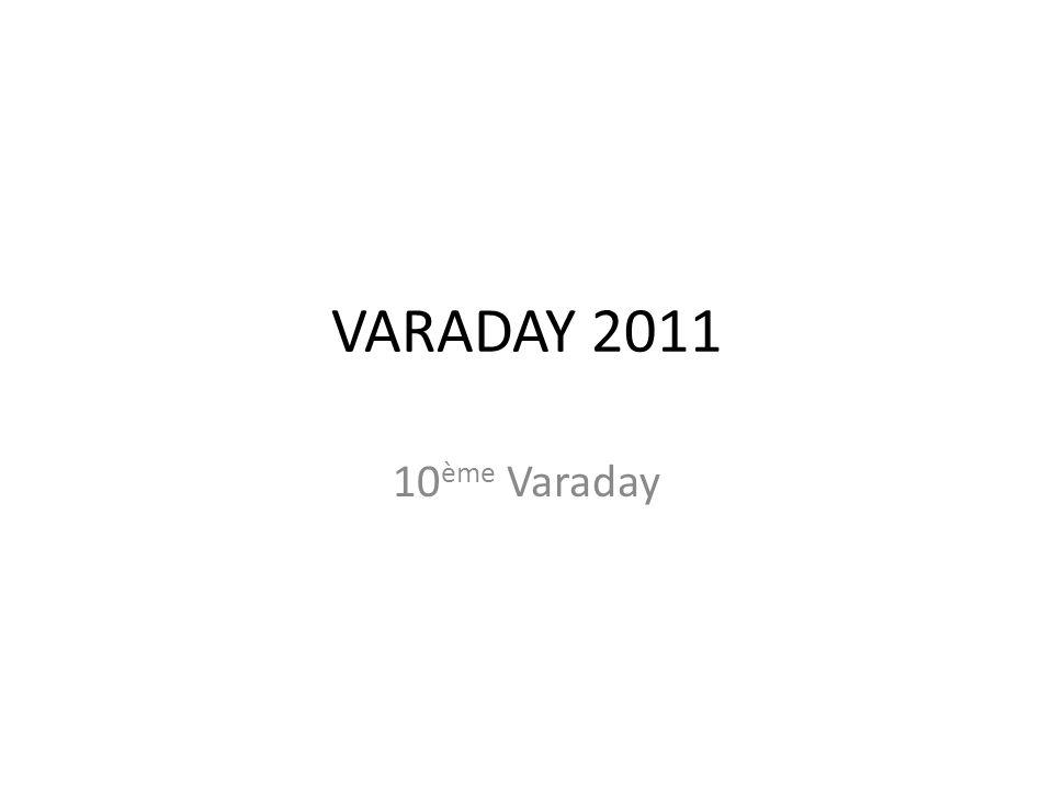 VARADAY 2011 10 ème Varaday