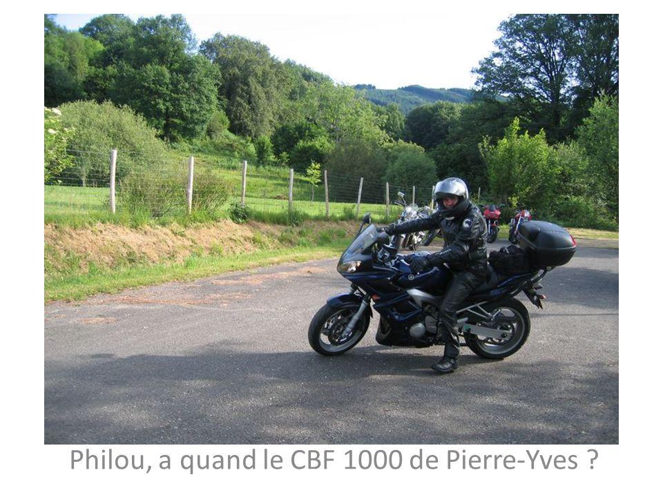 Philou, a quand le CBF 1000 de Pierre-Yves