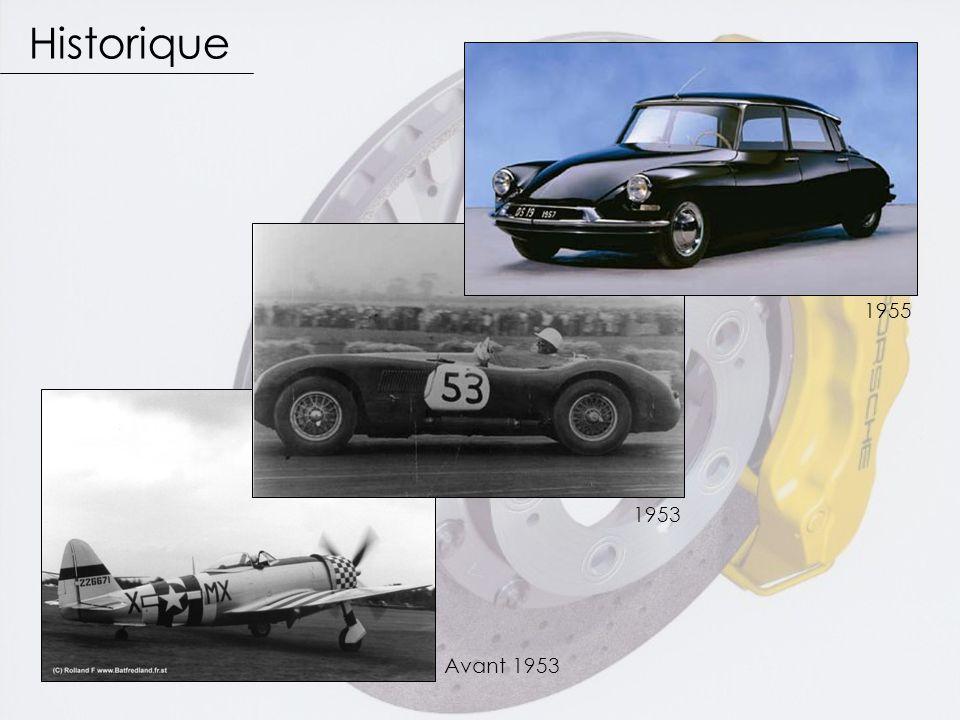 1953 1955 Historique Avant 1953