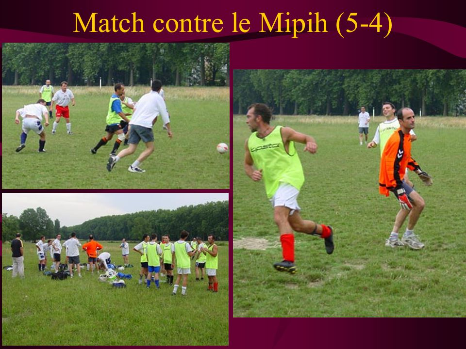 Match contre le Mipih (5-4)