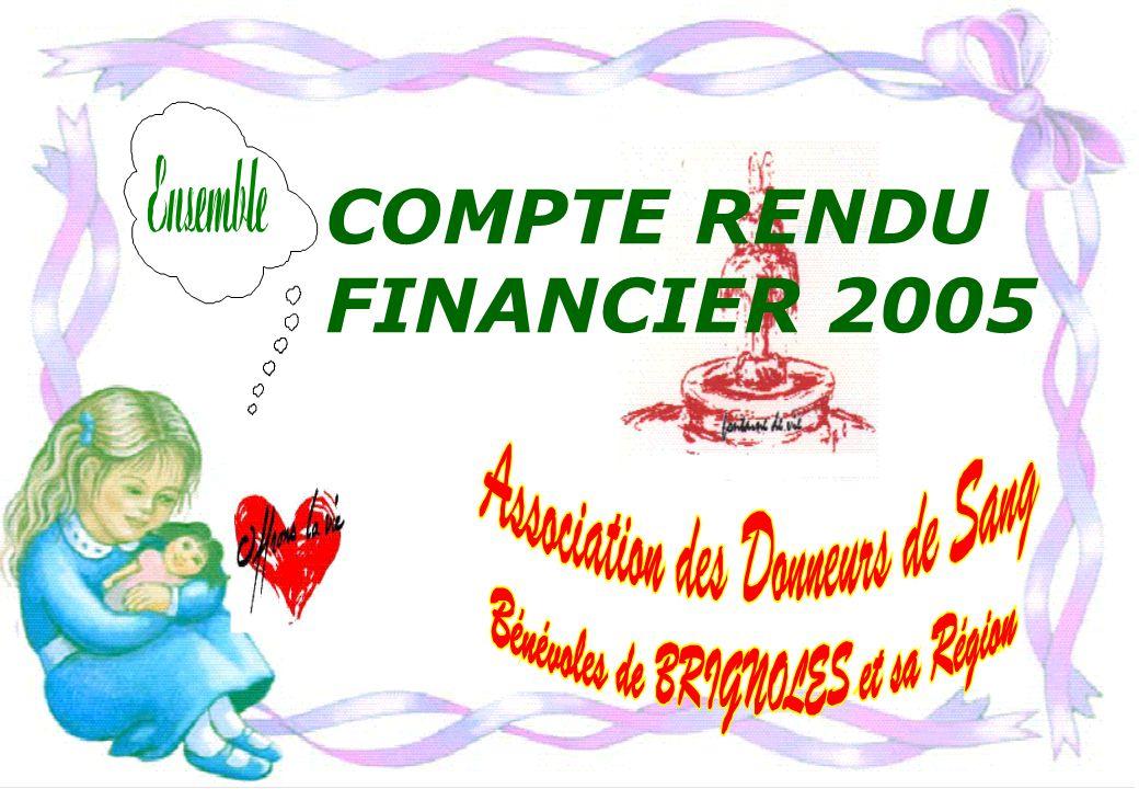 COMPTE RENDU FINANCIER 2005