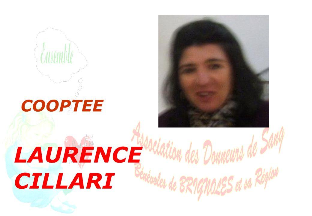 LAURENCE CILLARI COOPTEE
