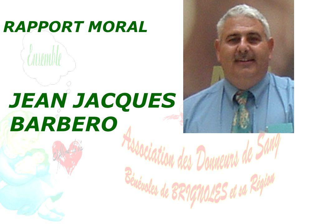 RAPPORT MORAL JEAN JACQUES BARBERO