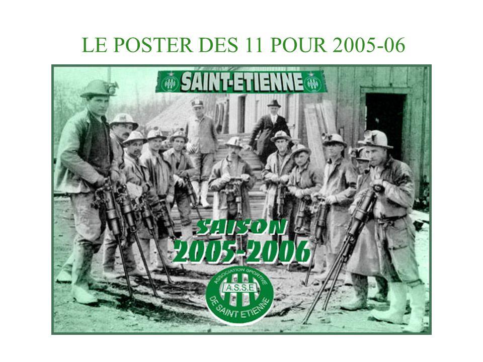 LE POSTER DES 11 POUR 2005-06