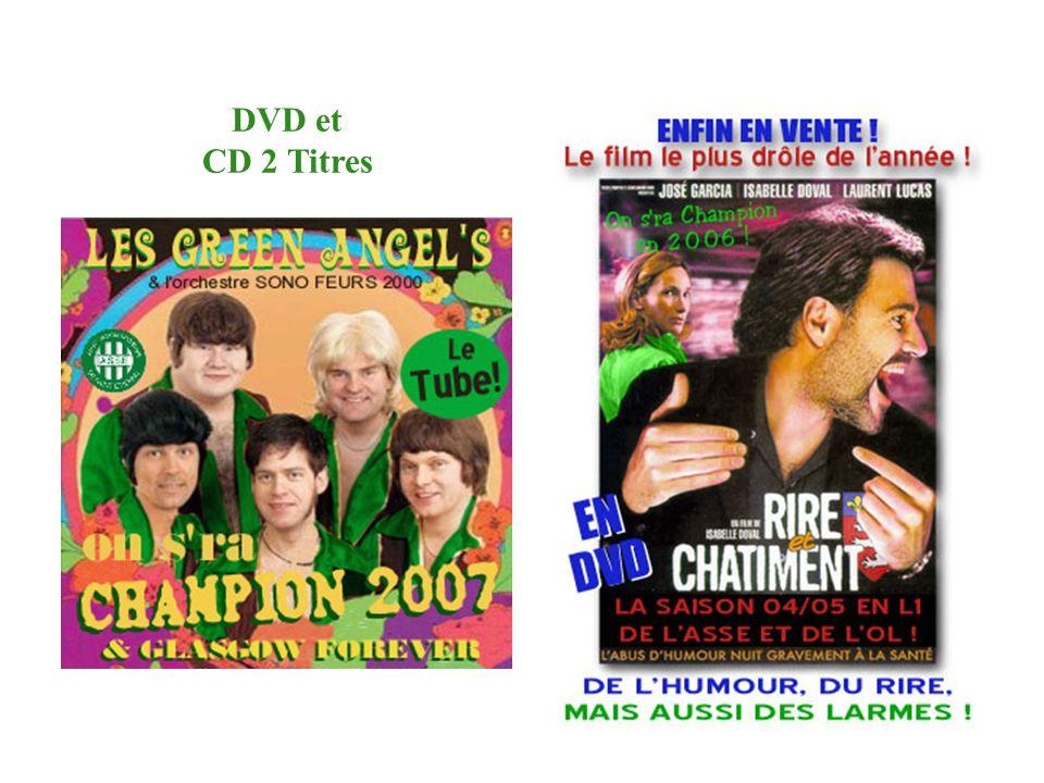 DVD et CD 2 Titres