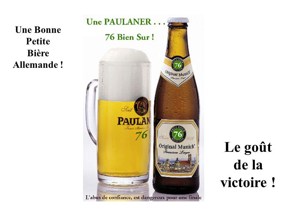 Une Bonne Petite Bière Allemande ! Le goût de la victoire !