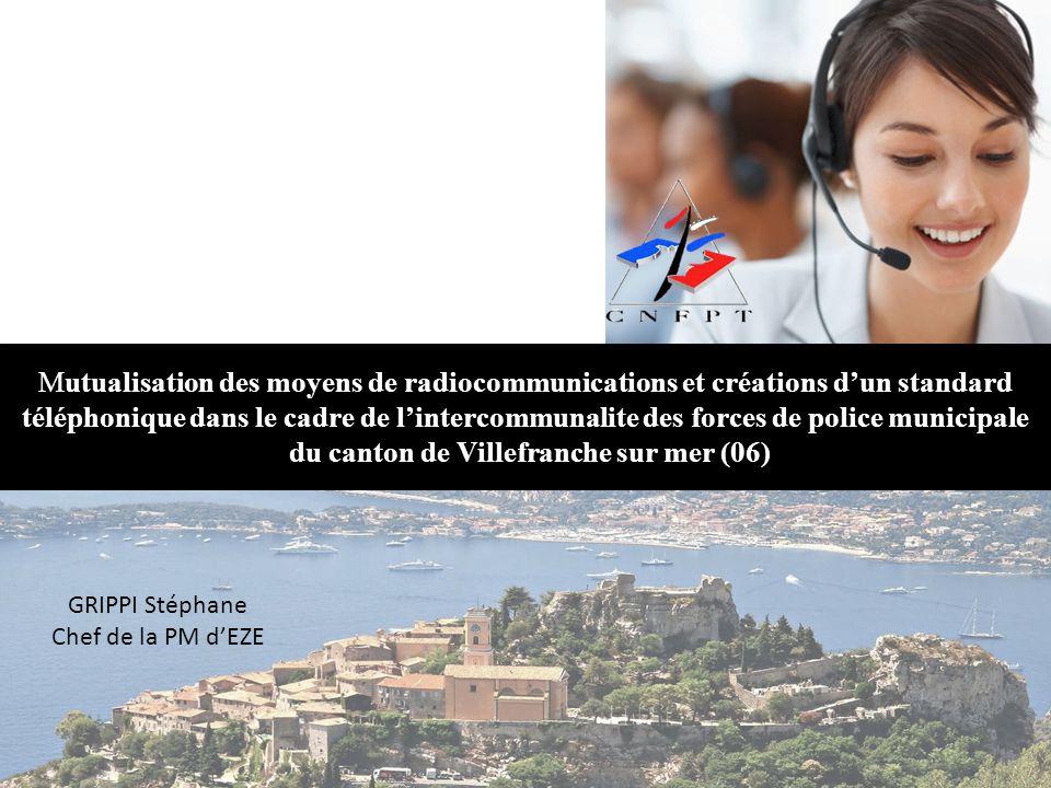 Mutualisation des moyens de radiocommunications et créations d'un standard téléphonique dans le cadre de l'intercommunalite des forces de police munic