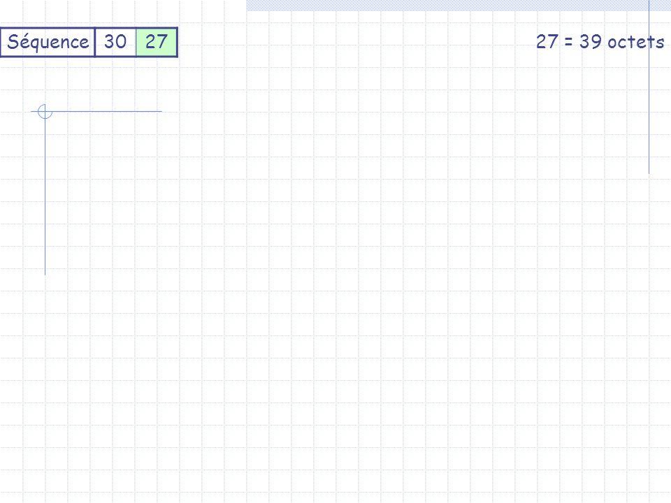 Séquence302727 = 39 octets