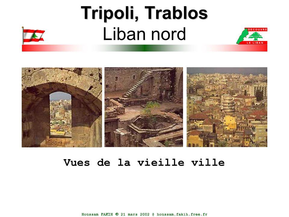 Houssam FAKIH  21 mars 2002 @ houssam.fakih.free.fr Tripoli, Trablos Tripoli, Trablos Liban nord Vues de la vieille ville