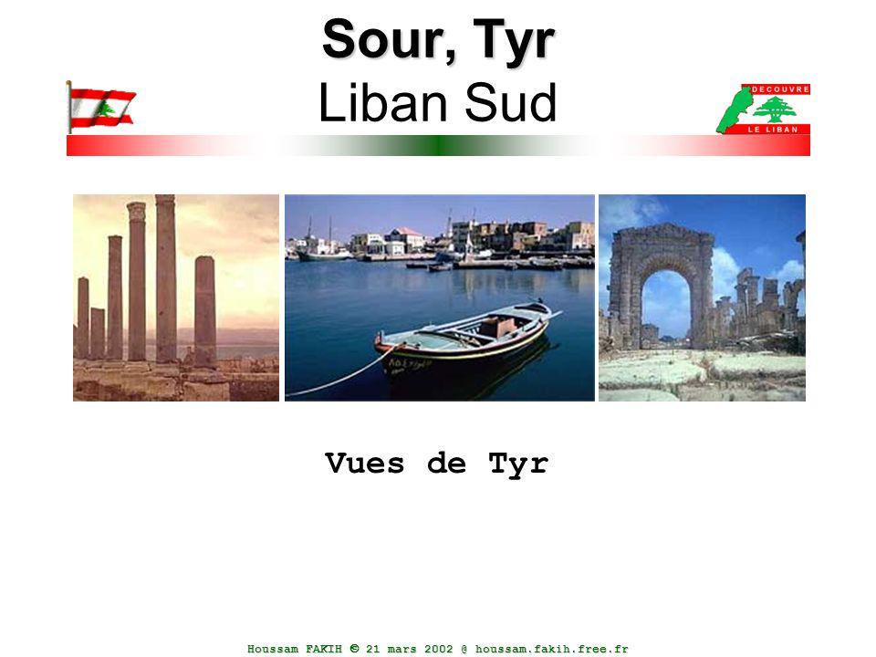 Houssam FAKIH  21 mars 2002 @ houssam.fakih.free.fr Sour, Tyr Sour, Tyr Liban Sud Vues de Tyr