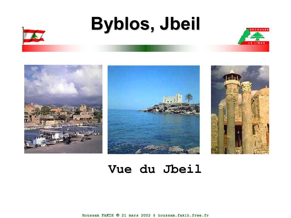 Houssam FAKIH  21 mars 2002 @ houssam.fakih.free.fr Byblos, Jbeil Vue du Jbeil