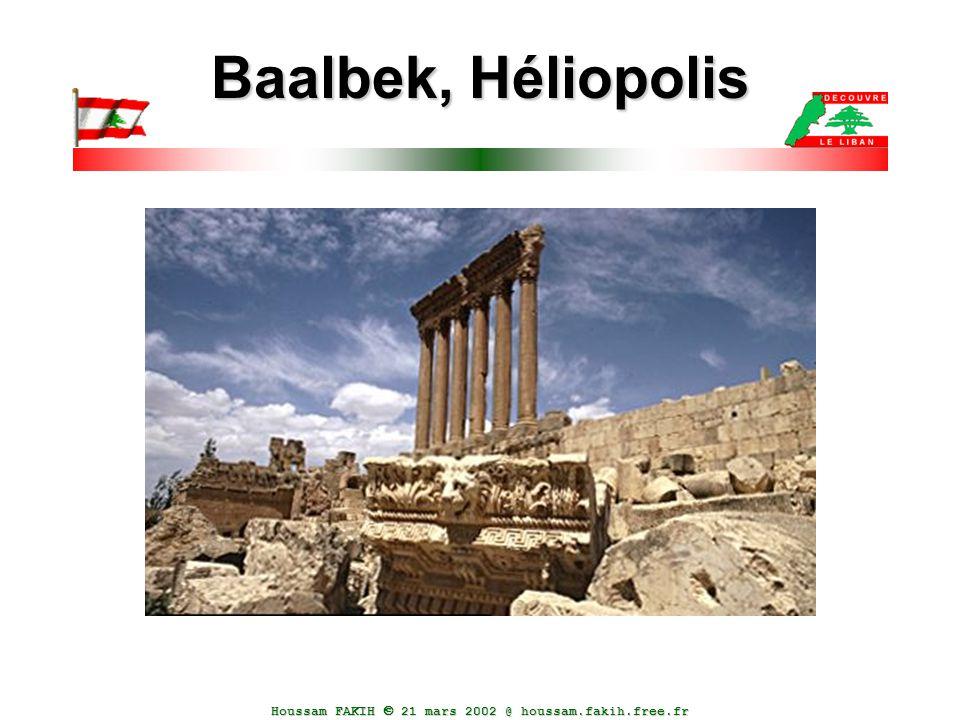 Houssam FAKIH  21 mars 2002 @ houssam.fakih.free.fr Baalbek, Héliopolis
