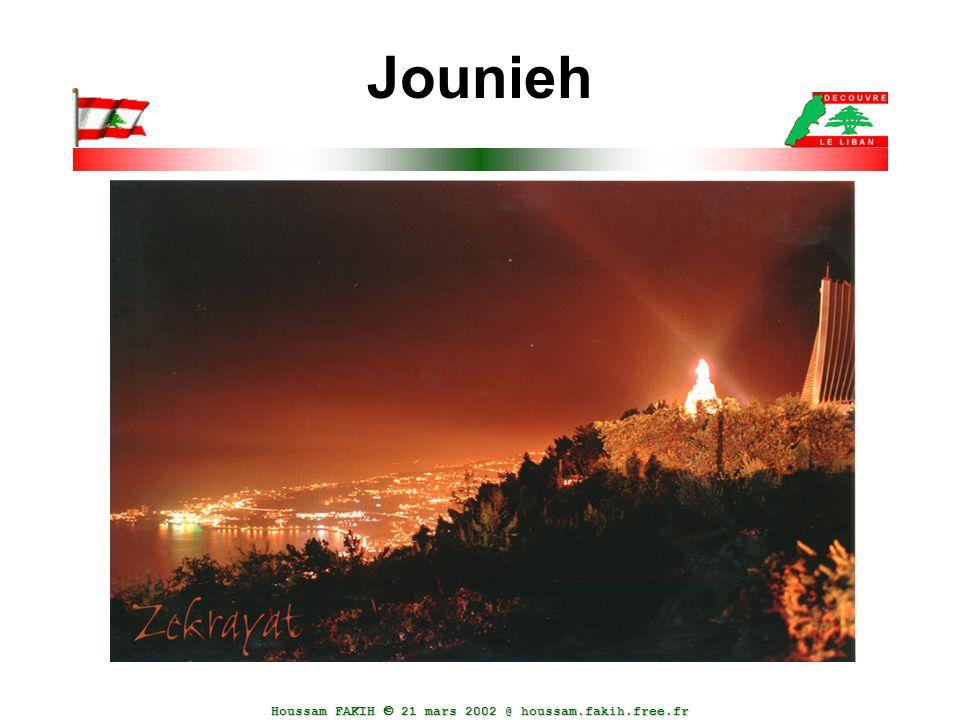 Houssam FAKIH  21 mars 2002 @ houssam.fakih.free.fr Jounieh