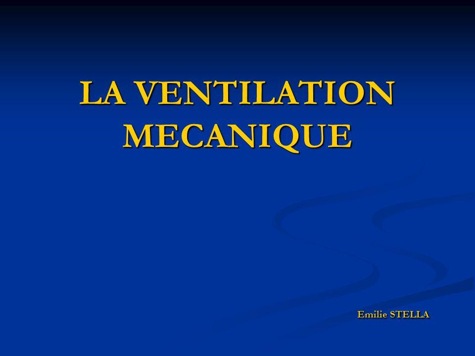 SURVEILLANCES PARACLINIQUES: PARACLINIQUES: FC et TA: hypertension et bradycardie sont des signes d'hypercapnie FC et TA: hypertension et bradycardie sont des signes d'hypercapnie SpO2: 95 à 100 % SpO2: 95 à 100 % Capnie: 35 à 45 mmHg Capnie: 35 à 45 mmHg Radiographie pulmonaire Radiographie pulmonaire Gaz du sang +++ Gaz du sang +++