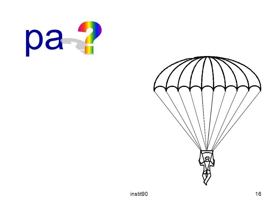 instit9016 parachute