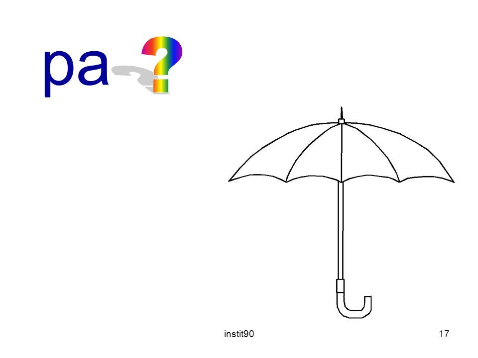instit9017 parapluie