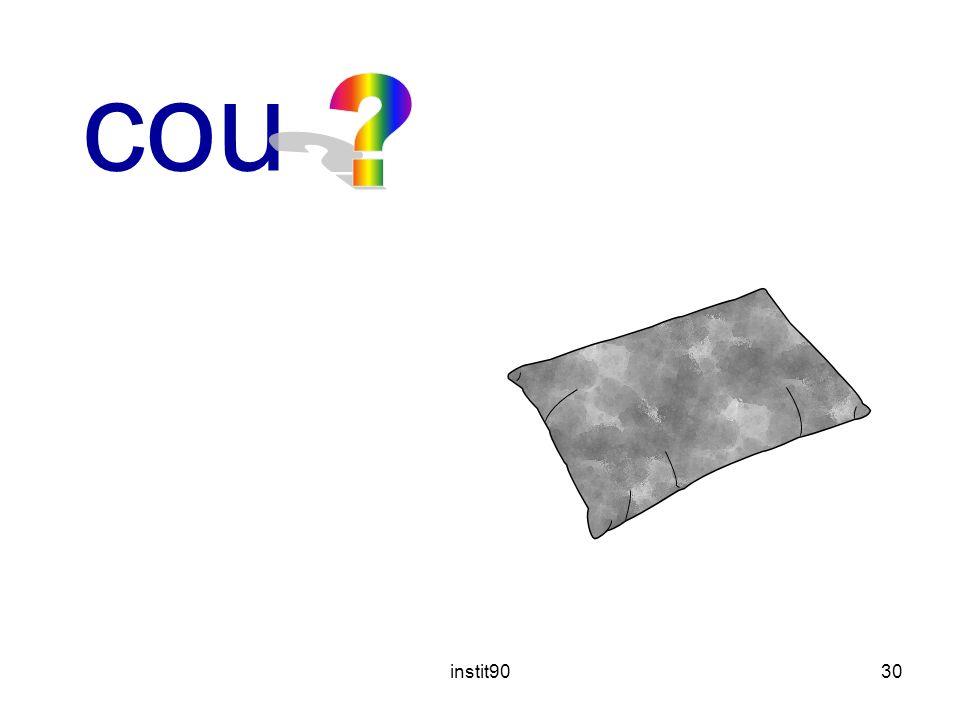 instit9030 coussin