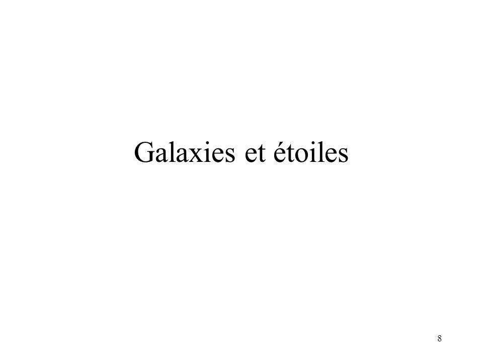 8 Galaxies et étoiles