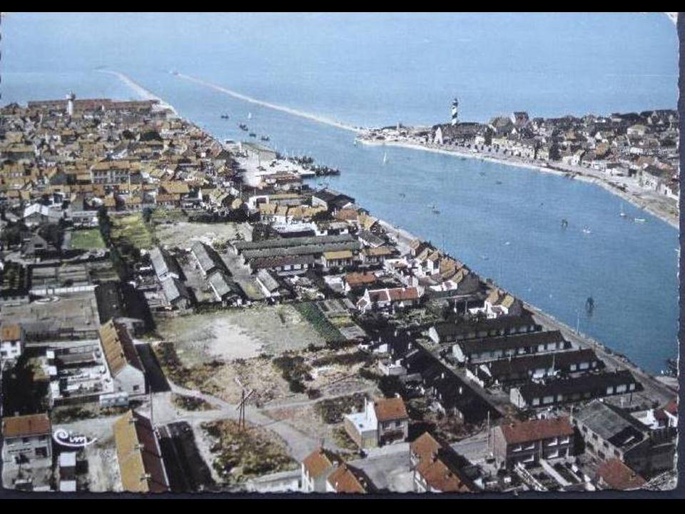 Vue aérienne sur le chenal 1980