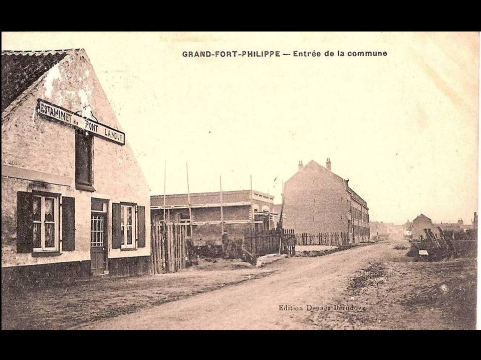 Vue prise de l'usine biermé 1922
