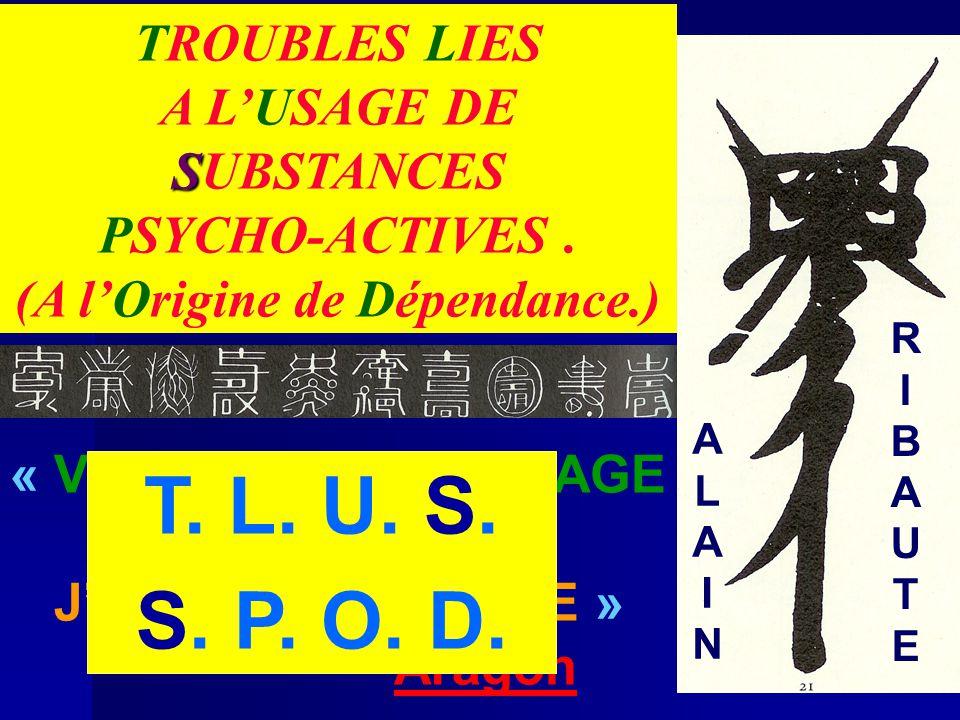 Les toxicomanes sont des patients en état de précarité, D'instabilité psychique, Souvent V.I.H.+ et/ou V.H.C.+, avec des Trtts.