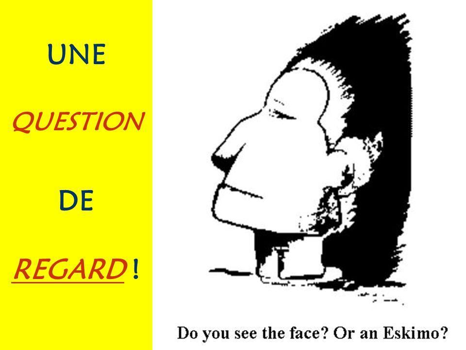 UNE QUESTION DE REGARD !