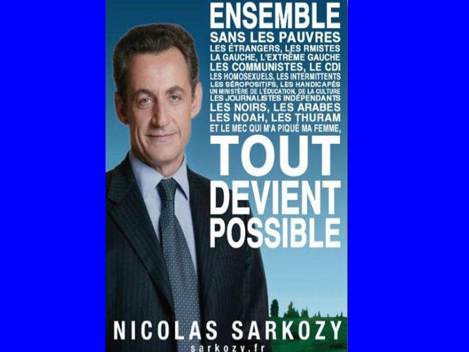 … LE THEME PRINCIPAL DE SA CAMPAGNE ELECTORALE: AUGMENTER LE POUVOIR D'ACHAT DE TOUS LES FRANCAIS ….