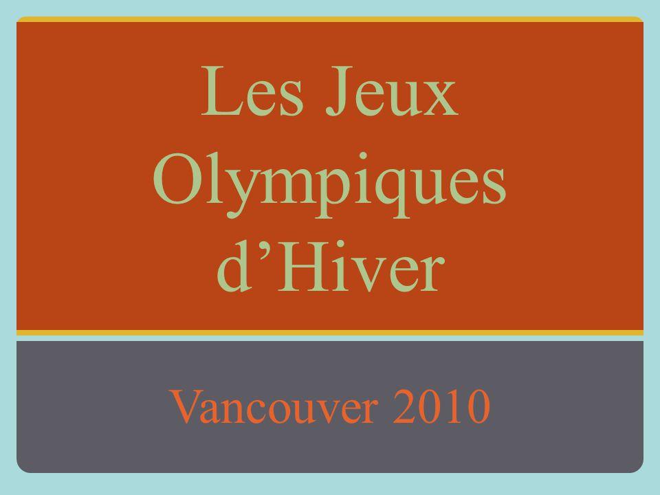 Les Jeux Olympiques d'Hiver Vancouver 2010